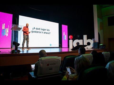"""IAB Forum 2017   Santiago Maiz: """"Realidades artificiales: La próxima frontera de las historias"""""""