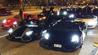 ECOL Tunnel Run (100+ cars race through London)