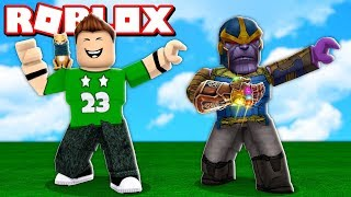THANOS VIRAL DANCE in ROBLOX !!