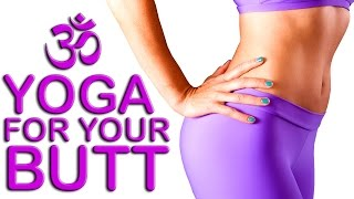 Yoga for Glutes & Legs, 20 Minute Beginners Weight Loss Routine, Gentle At Home Workout