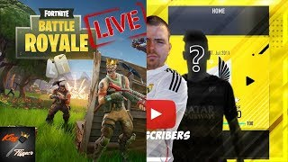 Fortnite Then SBC's, Playing Subs Until FUT Rewards On Fifa 18 Live
