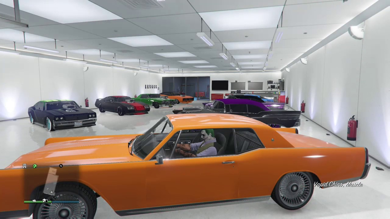 Gta V Muscle Cars Youtube