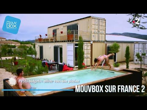 France 2 | La Piscine en container maritime - Mouvbox France.
