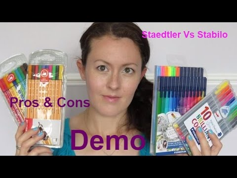 Staedtler vs Stabilo | Demo and Views