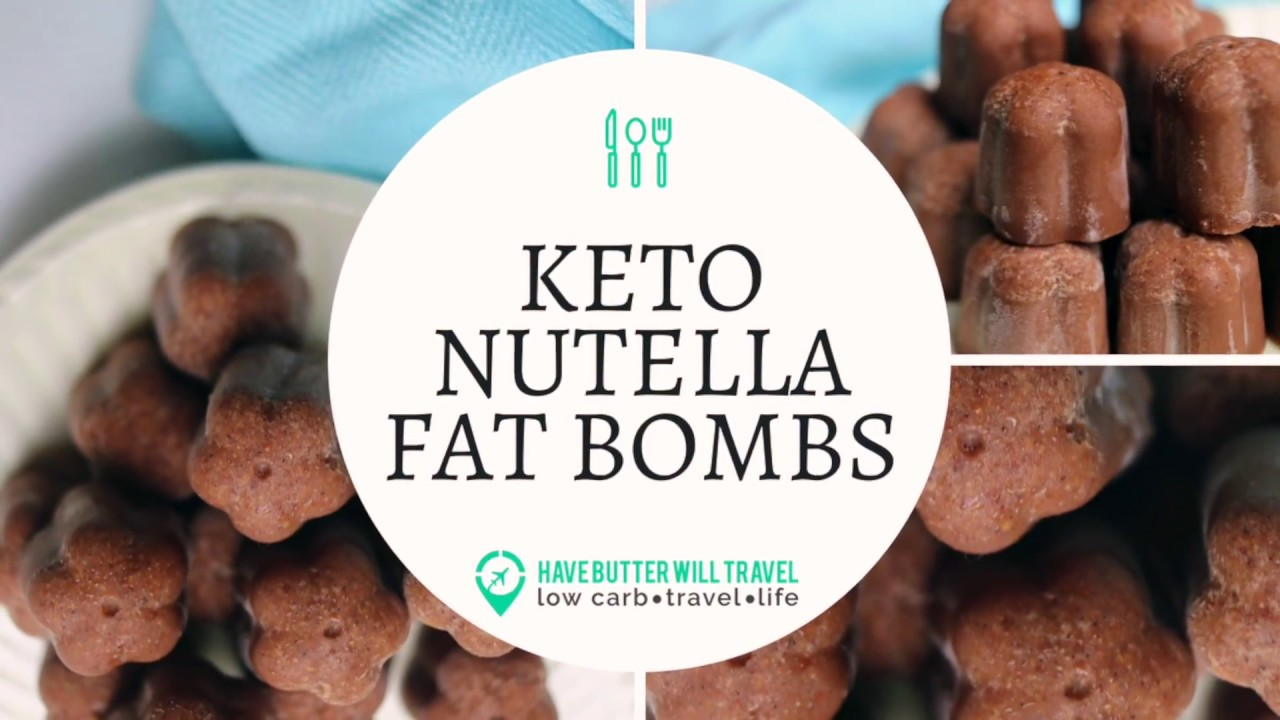 Nutella Fat Bombs - Perfect Keto - 3 Ingredients - Have