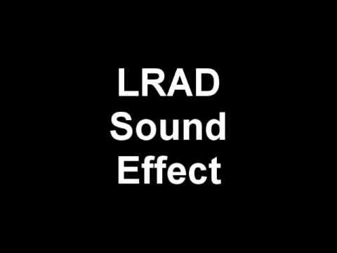 LRAD Sound Effect