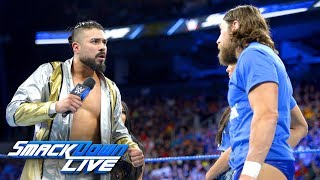 "Andrade ""Cien"" Almas challenges Daniel Bryan: SmackDown LIVE, Aug. 28, 2018"