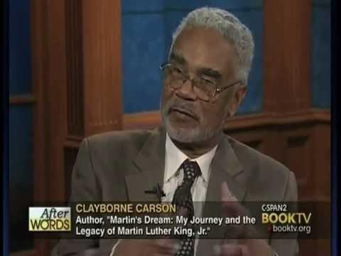 """Clayborne Carson Discusses New Book, """"Martin"""