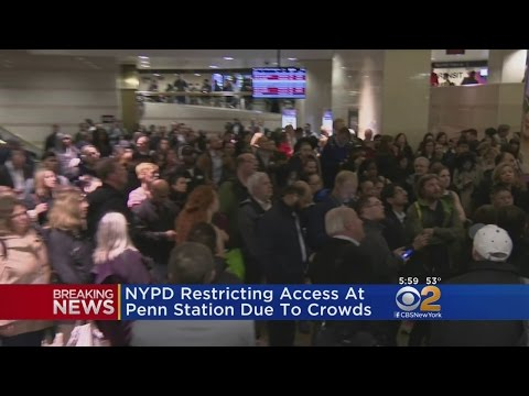 NYPD Restricts Access To Penn Station