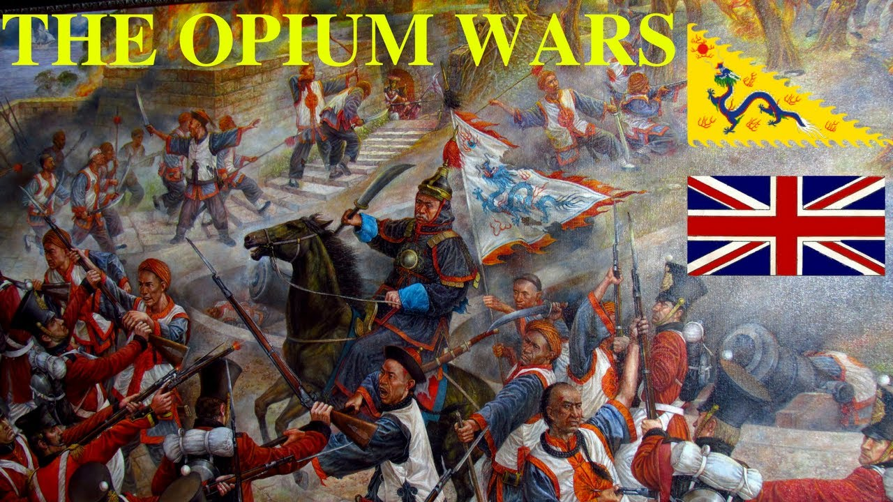 Image result for opium wars