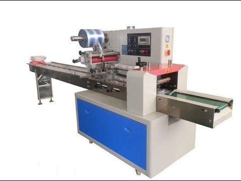 automatic flow wrapping machine manufacturers for horizontal form ...
