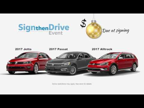 Twin Falls Volkswagen Sign then Drive Event