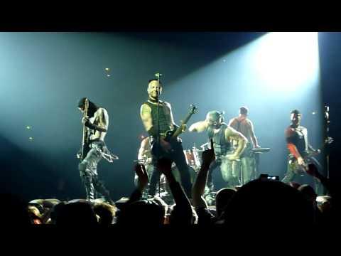 Rammstein Live - Mann Gegen Mann  [HD] - Helsinki 15.2.2012 - Hartwall Arena [HD] - Mann Gegen Mann