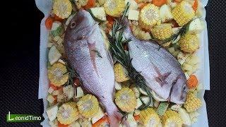 Рыба в духовке. Наш любимый способ приготовления рыбы.