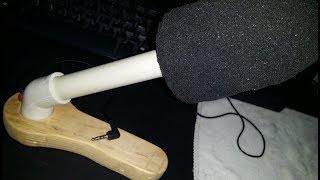 Como hacer micrófono profesional casero -DIY-