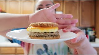ANOTHER LOW CARB BREAKFAST SANDWICH TASTE TEST! - September 18, 2020