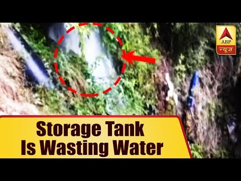 When Shimla Suffers From Water Crisis, This Storage Tank Is Wasting The Water  ABP