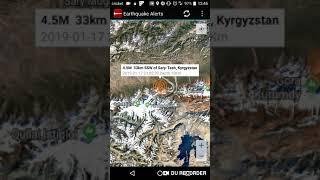 Sary-Tash, Kyrgyzstan Earthquake January 17th, 2019