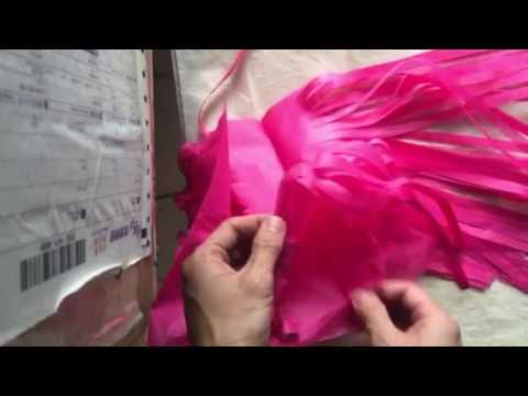 how to make tissue paper tassels, DIY Tissue Tassels, 14 Inch Long