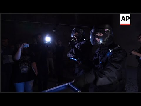 Russian protesters aided by digital tools, self-organizing