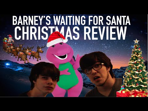 barney 39 s waiting for santa christmas review youtube. Black Bedroom Furniture Sets. Home Design Ideas