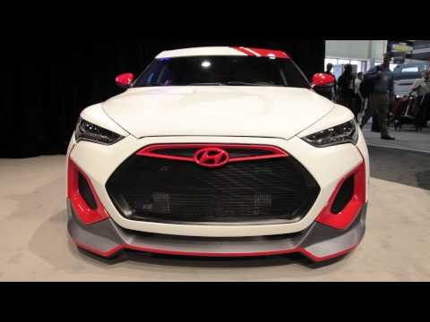 Hyundai Velocity Veloster Concept 2012 Sema Show