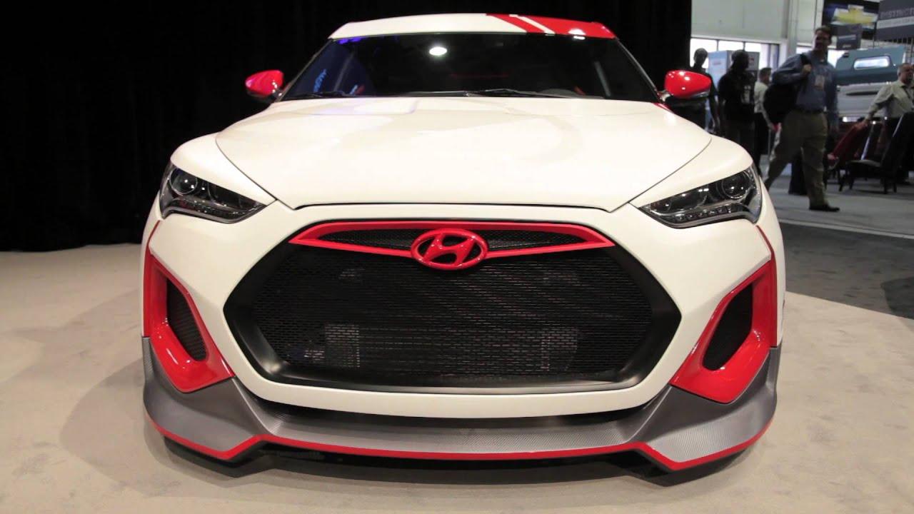 Hyundai Velocity Veloster Concept - 2012 Sema Show - YouTube