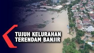 Gambar Udara Banjir Jakarta