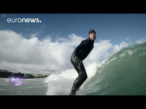 ESA Euronews: Surfing scientists
