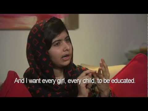 Malala Yousafzai Announces Malala Fund to Support Girls' Access to Education
