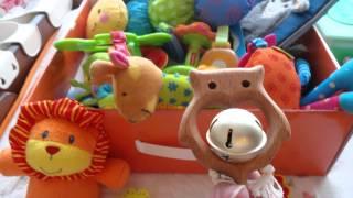 Покупки для новорожденного № 10. Игрушки 0+. Обзор мобиля от Tiny Love/