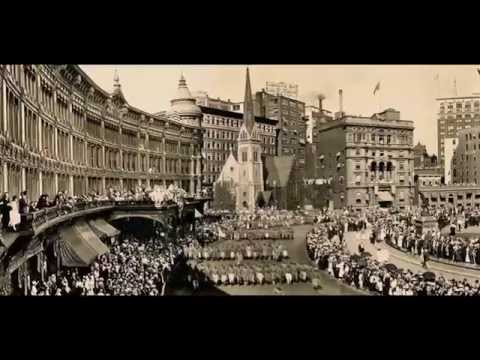 Old Pictures of Indianapolis WWI Parade 1918