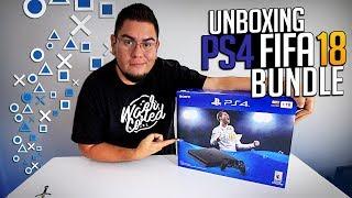 UNBOXING  PS4 BUNDLE FIFA 18
