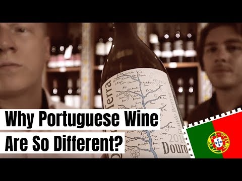 """Rick teaches me """"Why Portuguese Wine Are So Different?"""" (in AMSTERDAM) 