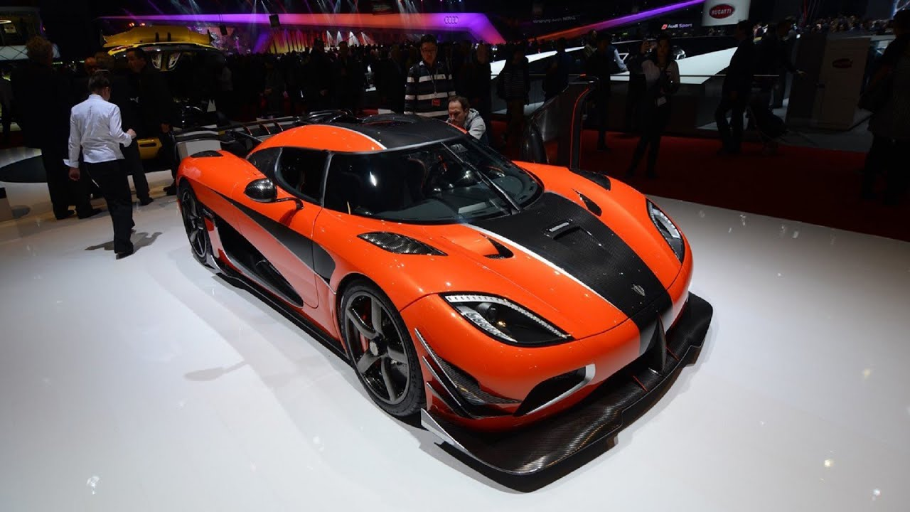 2017 Koenigsegg Agera RS Final One of 1  1360 HP Interior and