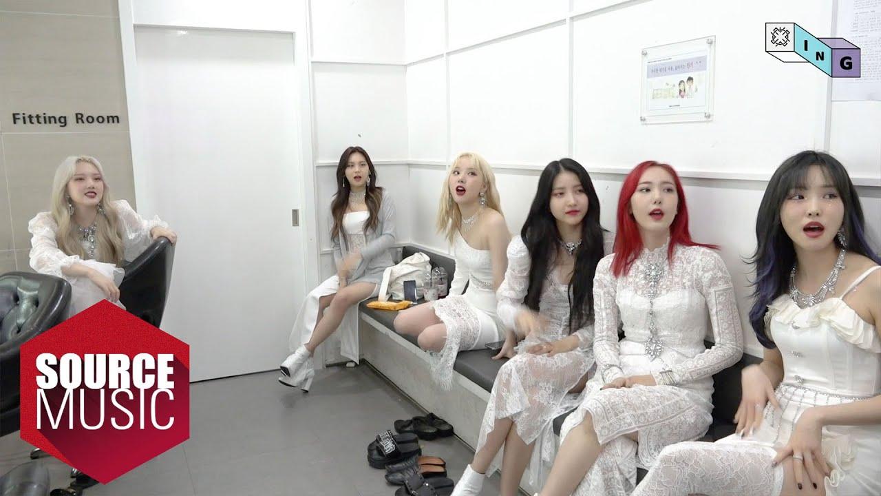 [G-ING] GFRIEND's K-pop Reaction - GFRIEND (여자친구)