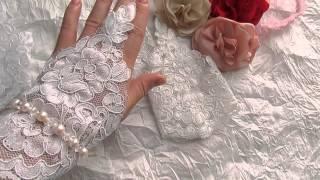 видео Свадебные митенки