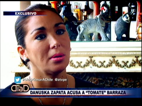 Día D: Danuska Zapata denuncia a Tomate Barraza