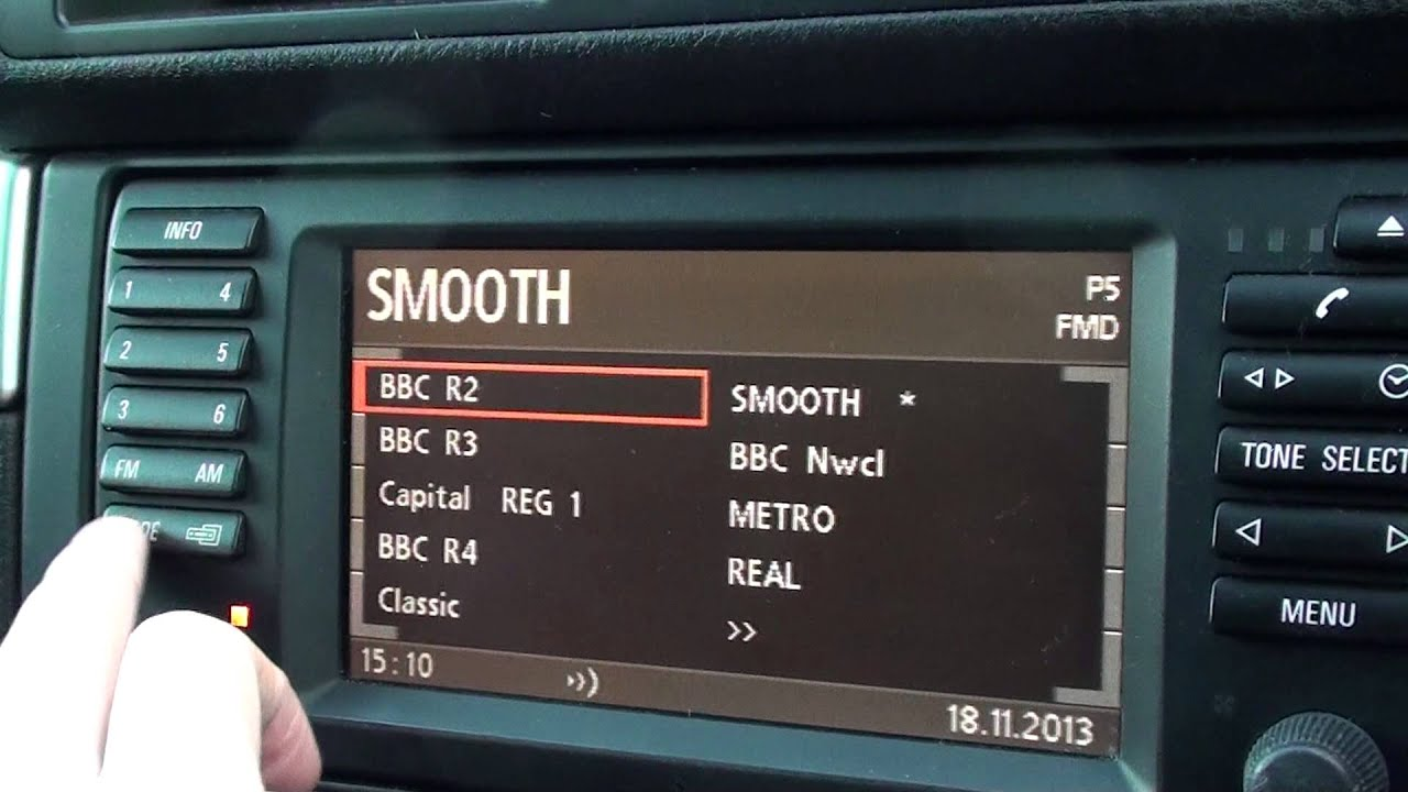 Bmw E39 Sat Nav Amp Computer Walkthrough Youtube