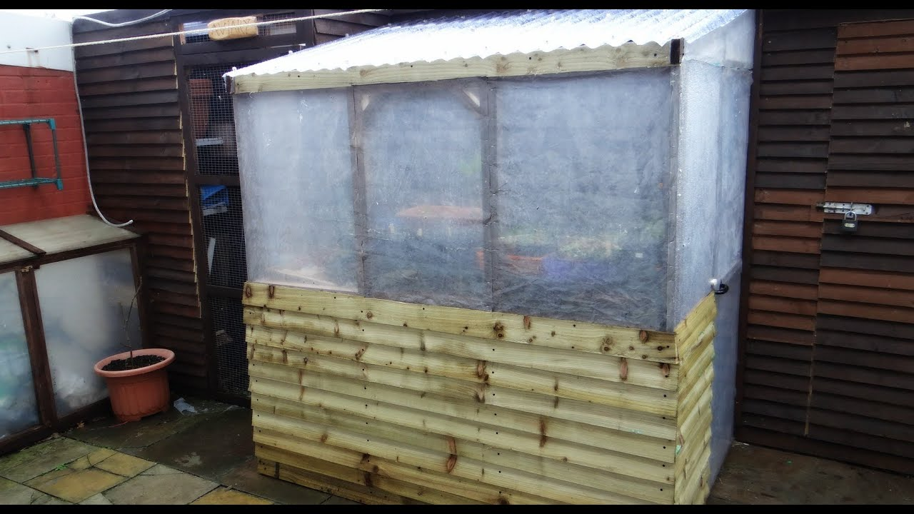 how to make a homemade greenhouse