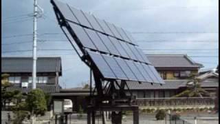 太陽光発電 太陽光自動追尾システム.