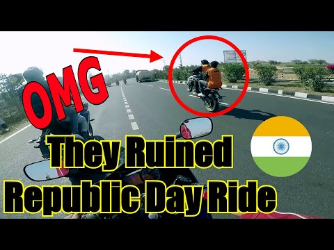 Republic Day Ride 2018 | Part 2 | Kuntala Waterfall |They Ruined The Ride