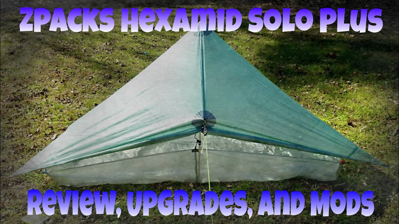 Zpacks Hexamid Solo Plus - Review Upgrades Cuban Bathtub Floor And Mods & Zpacks Hexamid Solo Plus - Review Upgrades Cuban Bathtub Floor ...