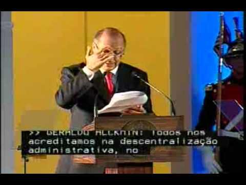 Discurso de Posse de Geraldo Alckmin