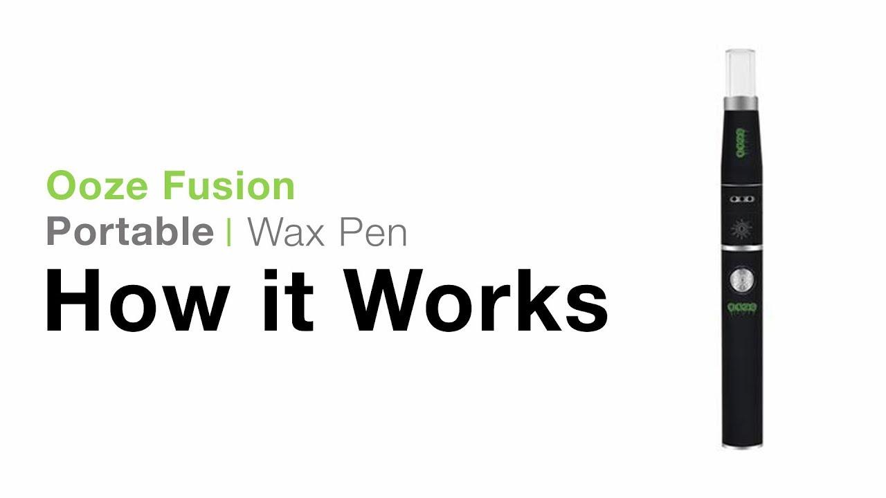 Ooze Fusion Wax Pen Tutorial - TVape