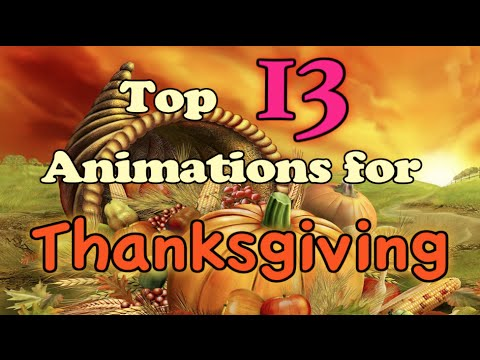 Top 13 Animated Thanksgiving Specials/Episodes
