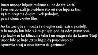 Vanki & Sale Prerad - A GDE SU MOJI DRUGOVI //2012// TEKST