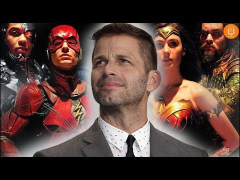 Zack Snyder is DONE with Justice League