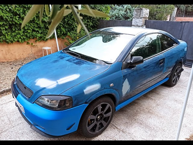 Preparando Cambio color Opel Astra G Coupé   #1