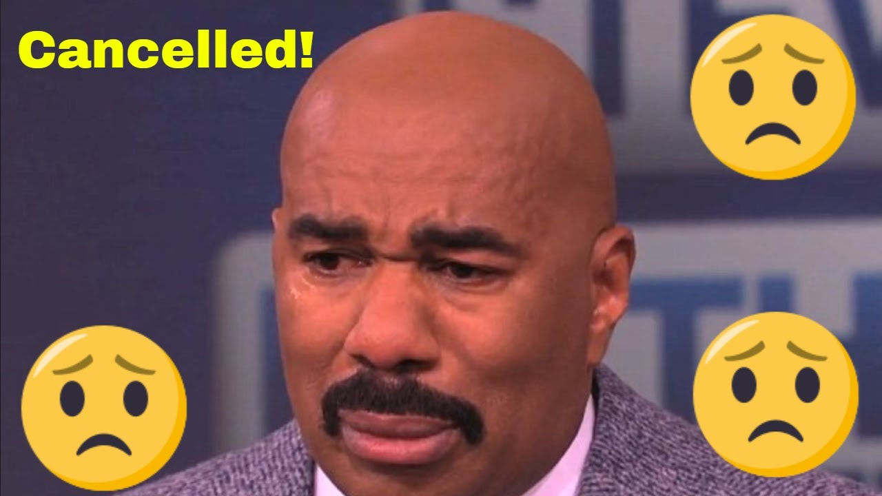 Steve Harvey's network dumps his talk show even as his ex-wife continues chasing him for money